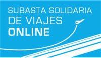 Subasta solidaria de viajes on line. Subastamos el mundo.