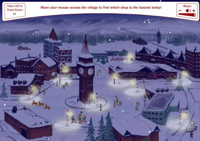 Cuenta atrás para la llegada de Santa Claus ( o Papá Noel)