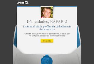Linkedin lanza una campaña de marketing tocando el ego personal de sus usuarios